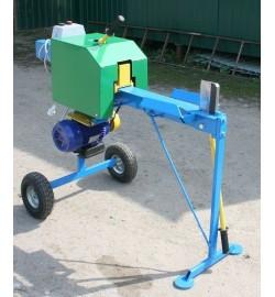 Krumpliastiebinė malkų skaldyklė su elektriniu varikliu 2,2 KW 380 V